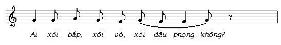 Âm nhạc trong tiếng rao hàng của người Việt - 9