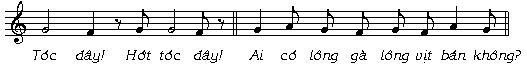 Âm nhạc trong tiếng rao hàng của người Việt - 6