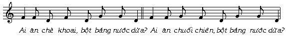 Âm nhạc trong tiếng rao hàng của người Việt - 11