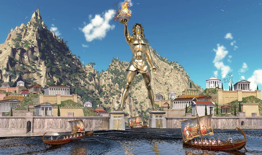 Lịch sử tượng Thần Mặt Trời ở Rhodes - 5