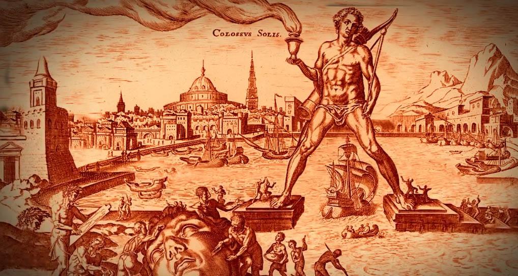 Lịch sử tượng Thần Mặt Trời ở Rhodes - 4