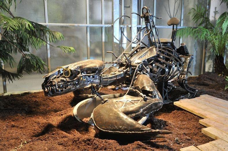 Công viên động vật máy kỳ thú ở Nantes, Pháp - 10