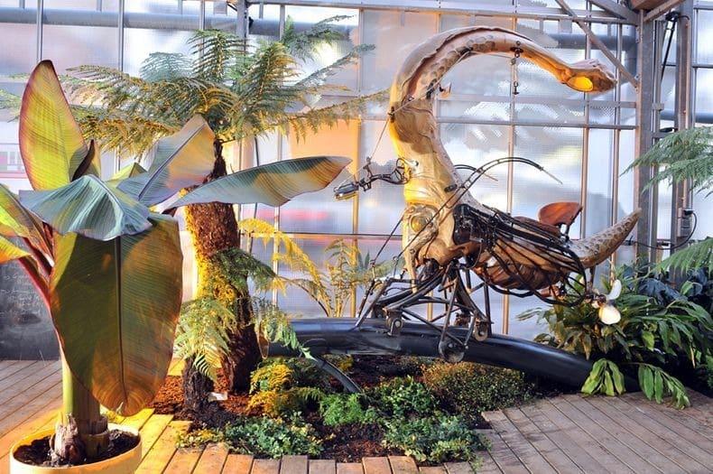 Công viên động vật máy kỳ thú ở Nantes, Pháp - 14