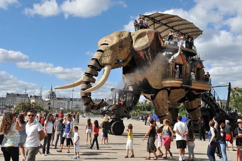 Công viên động vật máy kỳ thú ở Nantes, Pháp - 4