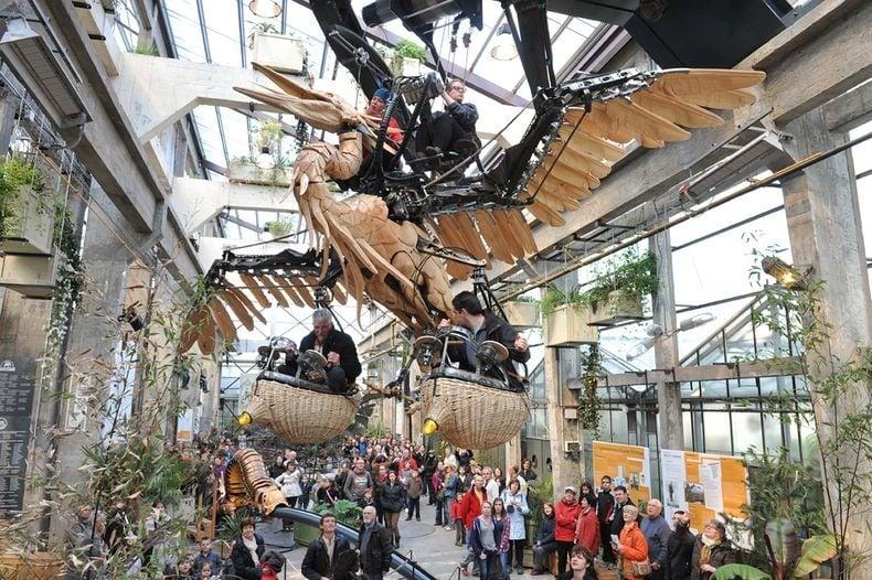 Công viên động vật máy kỳ thú ở Nantes, Pháp - 9