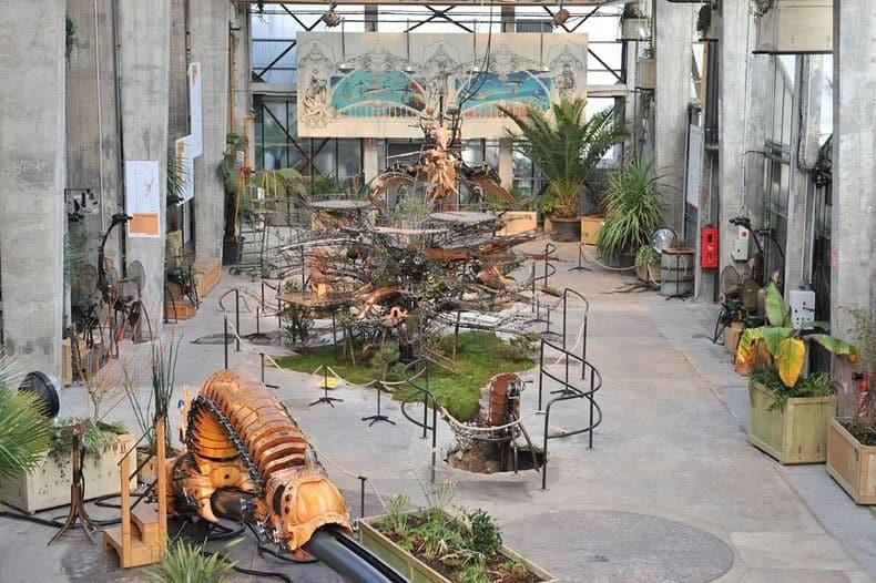 Công viên động vật máy kỳ thú ở Nantes, Pháp - 12