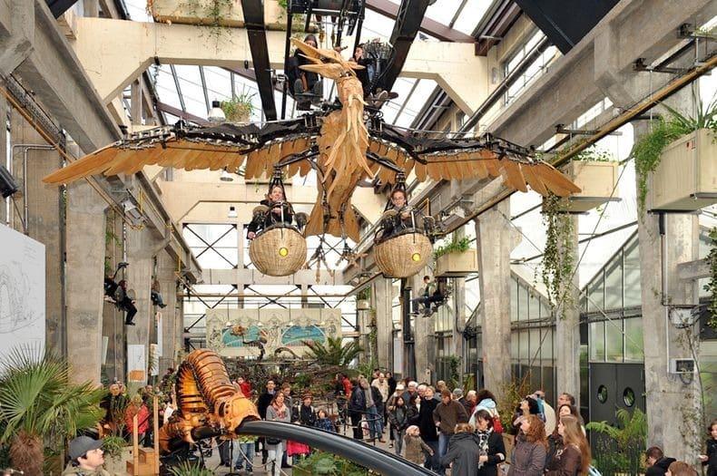 Công viên động vật máy kỳ thú ở Nantes, Pháp - 8
