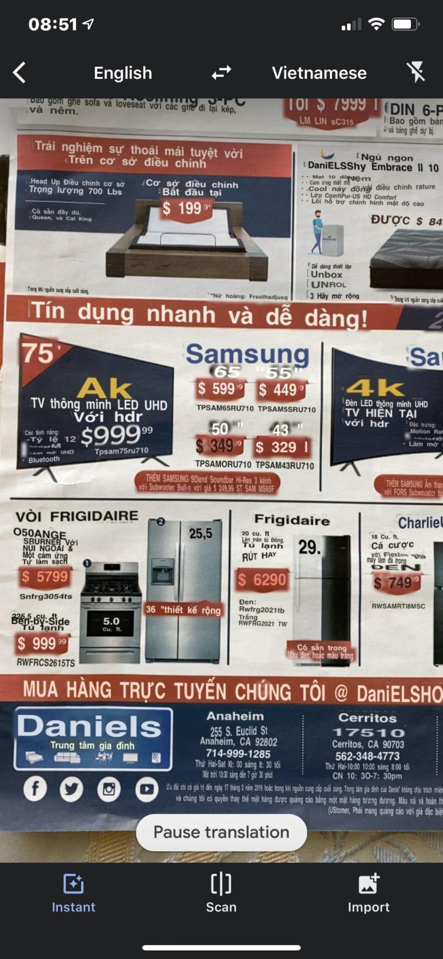 Dịch mọi ngôn ngữ sang tiếng Việt bằng camera điện thoại - 4