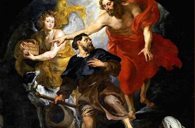 Lòng từ bi không sợ hãi trong đại dịch qua chuyện Thánh Roch - 5
