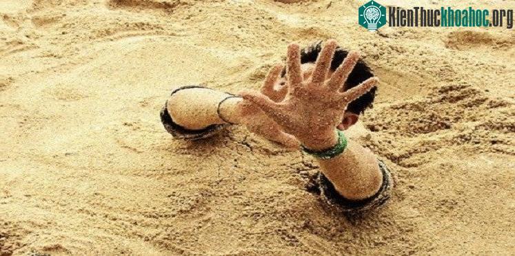 Giải mã một trong những cái chết đáng sợ nhất lịch sử: cát lún - 4