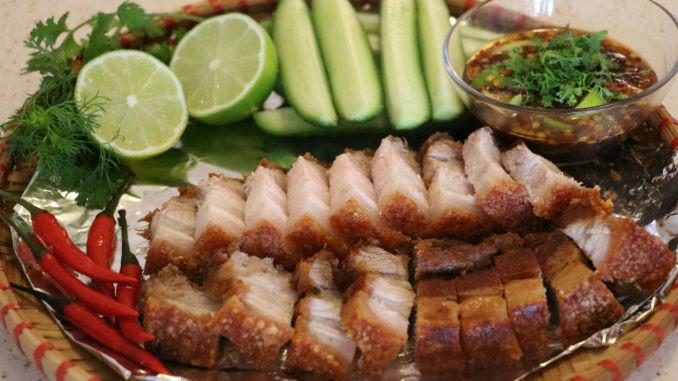Thịt chiên giòn ngon kiểu Thái - 7