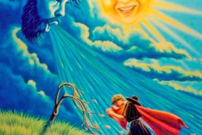 Bài học rút ra từ truyện ngụ ngôn:  Gió và Mặt trời - 1