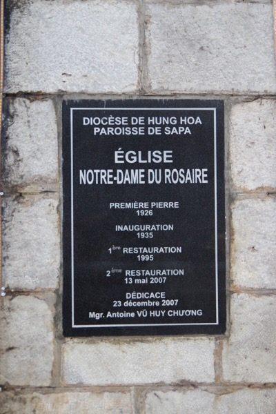Sapa, Lào Cai, chúng ta cùng đặt nhà thờ ở giữa làng - 7