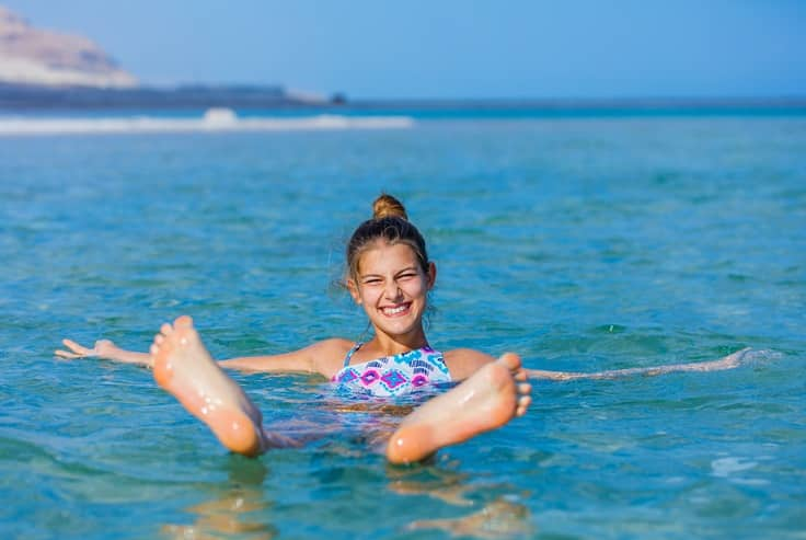 Biển Chết không chìm, nhưng vì sao rất ít người đến đây bơi? - 2