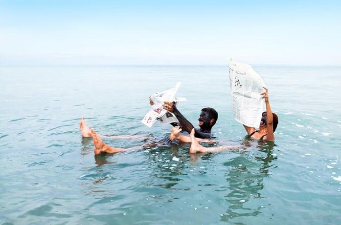 Biển Chết không chìm, nhưng vì sao rất ít người đến đây bơi? - 3