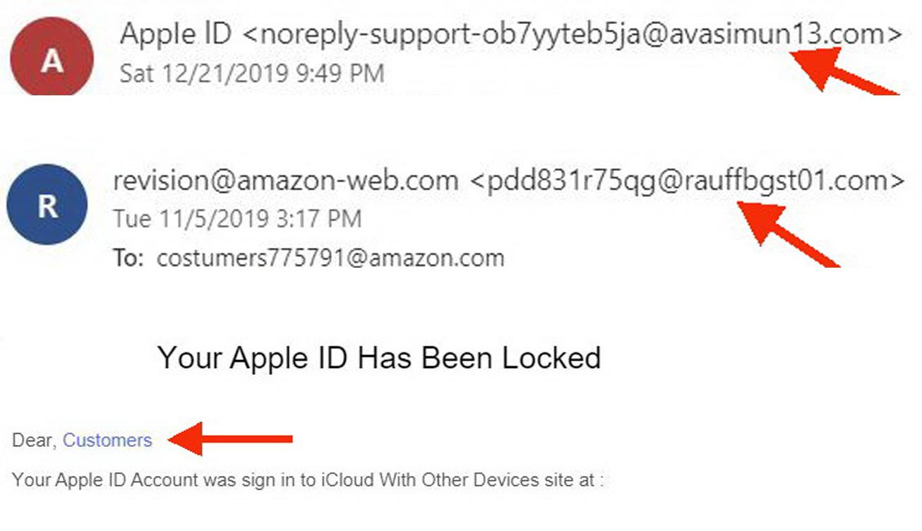 Cách nhận biết email lừa đảo - 5