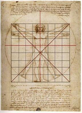 """""""Vitruvian Man"""" của Leonardo Da Vinci và tỉ lệ hoàn mỹ - 4"""