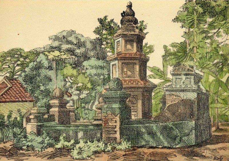 Bộ tranh vẽ cuộc sống người Việt vào thập niên 1930 - 20