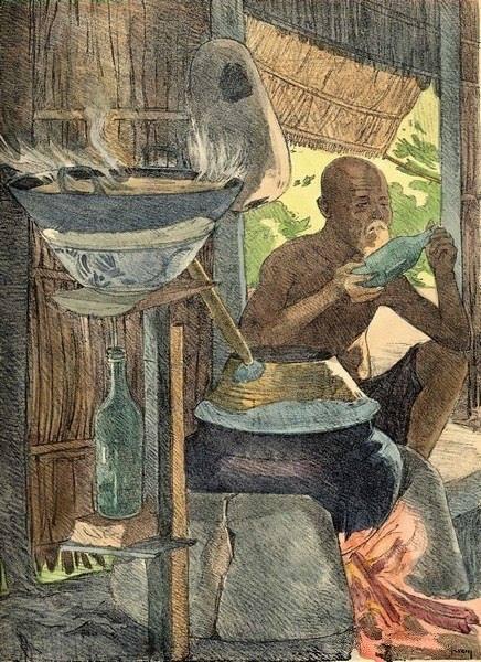 Bộ tranh vẽ cuộc sống người Việt vào thập niên 1930 - 32