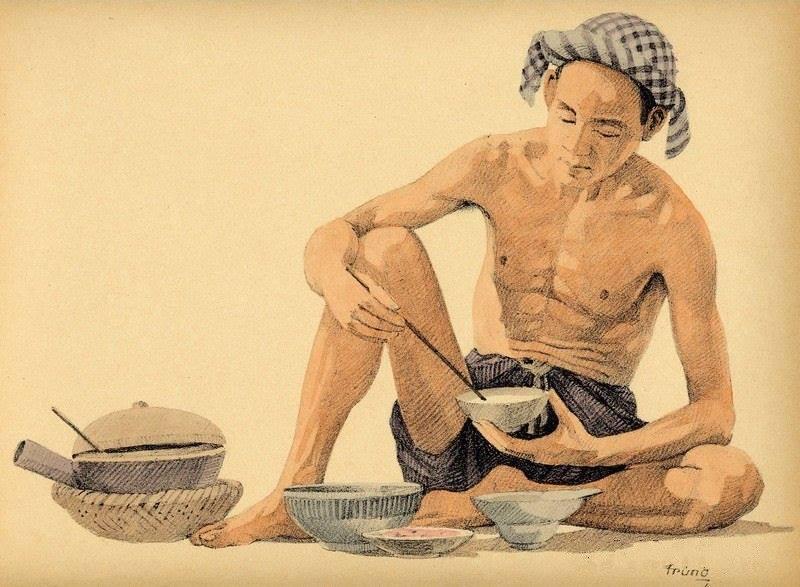 Bộ tranh vẽ cuộc sống người Việt vào thập niên 1930 - 31