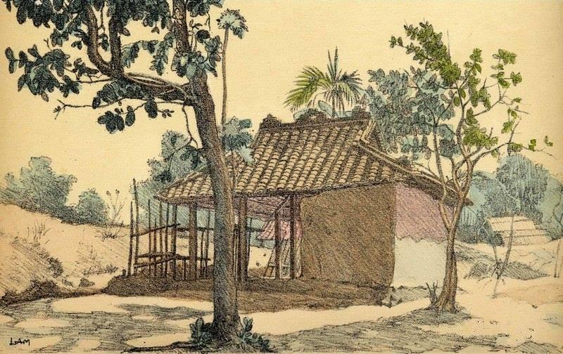 Bộ tranh vẽ cuộc sống người Việt vào thập niên 1930 - 5