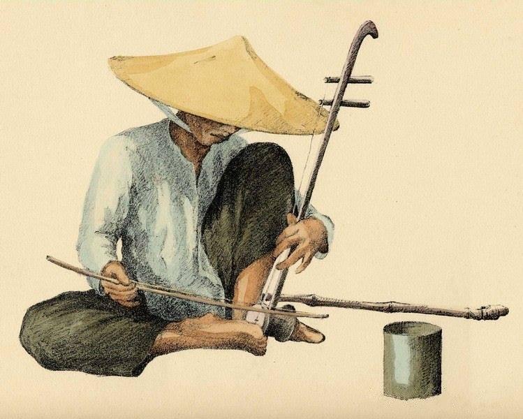 Bộ tranh vẽ cuộc sống người Việt vào thập niên 1930 - 42