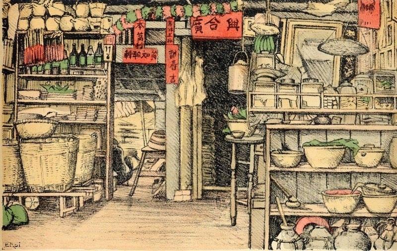 Bộ tranh vẽ cuộc sống người Việt vào thập niên 1930 - 38