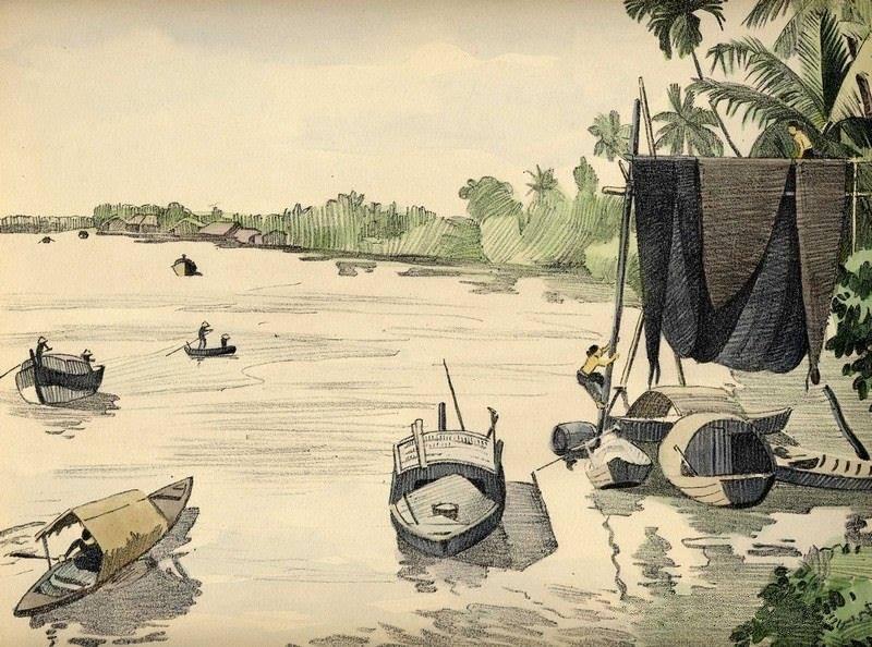 Bộ tranh vẽ cuộc sống người Việt vào thập niên 1930 - 16
