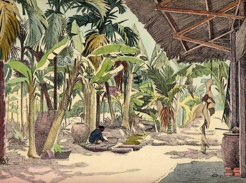 Bộ tranh vẽ cuộc sống người Việt vào thập niên 1930 - 18