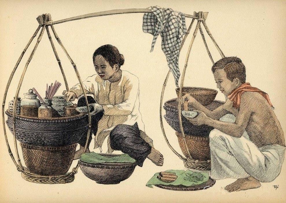 Bộ tranh vẽ cuộc sống người Việt vào thập niên 1930 - 47