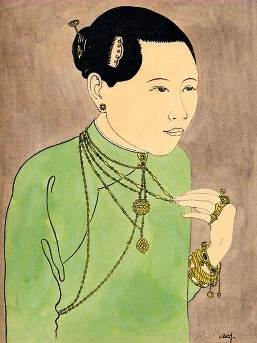 Bộ tranh vẽ cuộc sống người Việt vào thập niên 1930 - 59