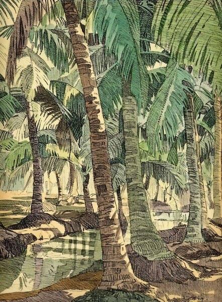 Bộ tranh vẽ cuộc sống người Việt vào thập niên 1930 - 4
