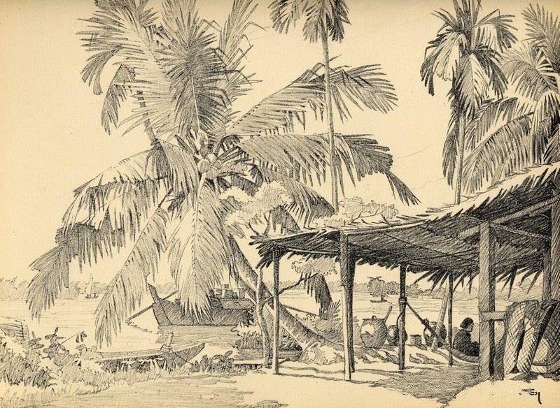 Bộ tranh vẽ cuộc sống người Việt vào thập niên 1930 - 7
