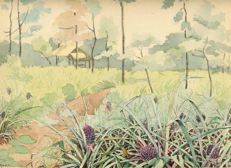 Bộ tranh vẽ cuộc sống người Việt vào thập niên 1930 - 10
