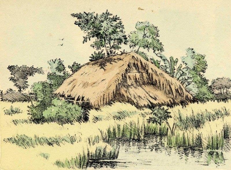 Bộ tranh vẽ cuộc sống người Việt vào thập niên 1930 - 8