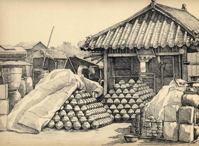 Bộ tranh vẽ cuộc sống người Việt vào thập niên 1930 - 34