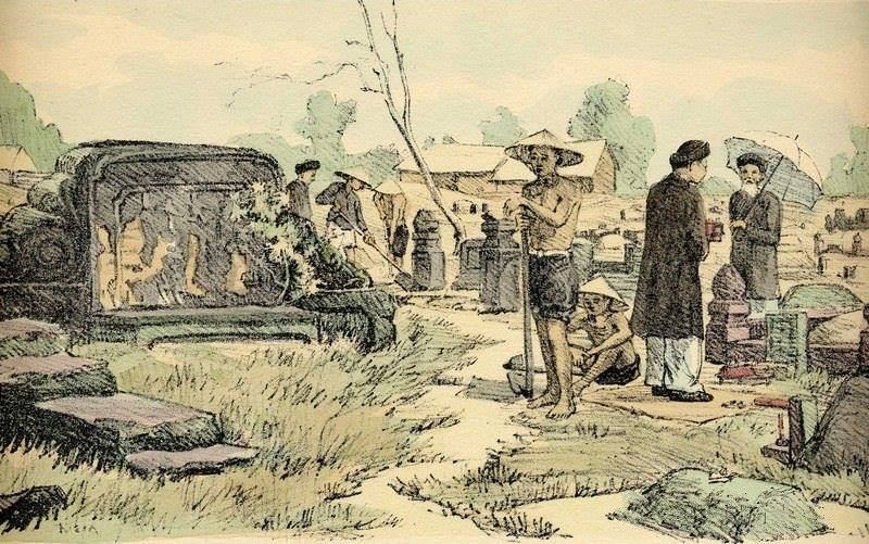 Bộ tranh vẽ cuộc sống người Việt vào thập niên 1930 - 24