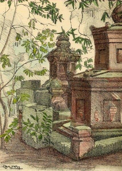 Bộ tranh vẽ cuộc sống người Việt vào thập niên 1930 - 22
