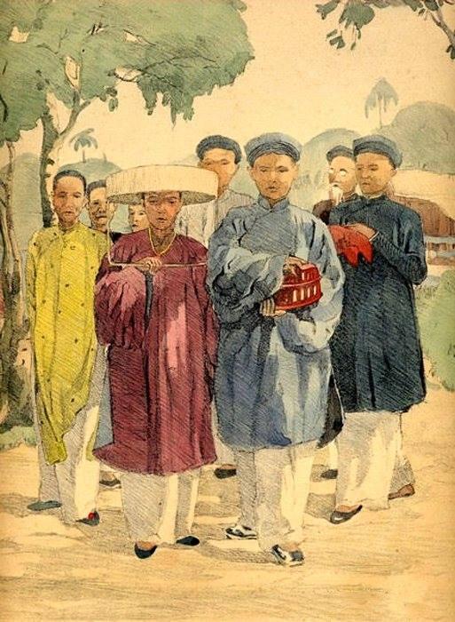 Bộ tranh vẽ cuộc sống người Việt vào thập niên 1930 - 26
