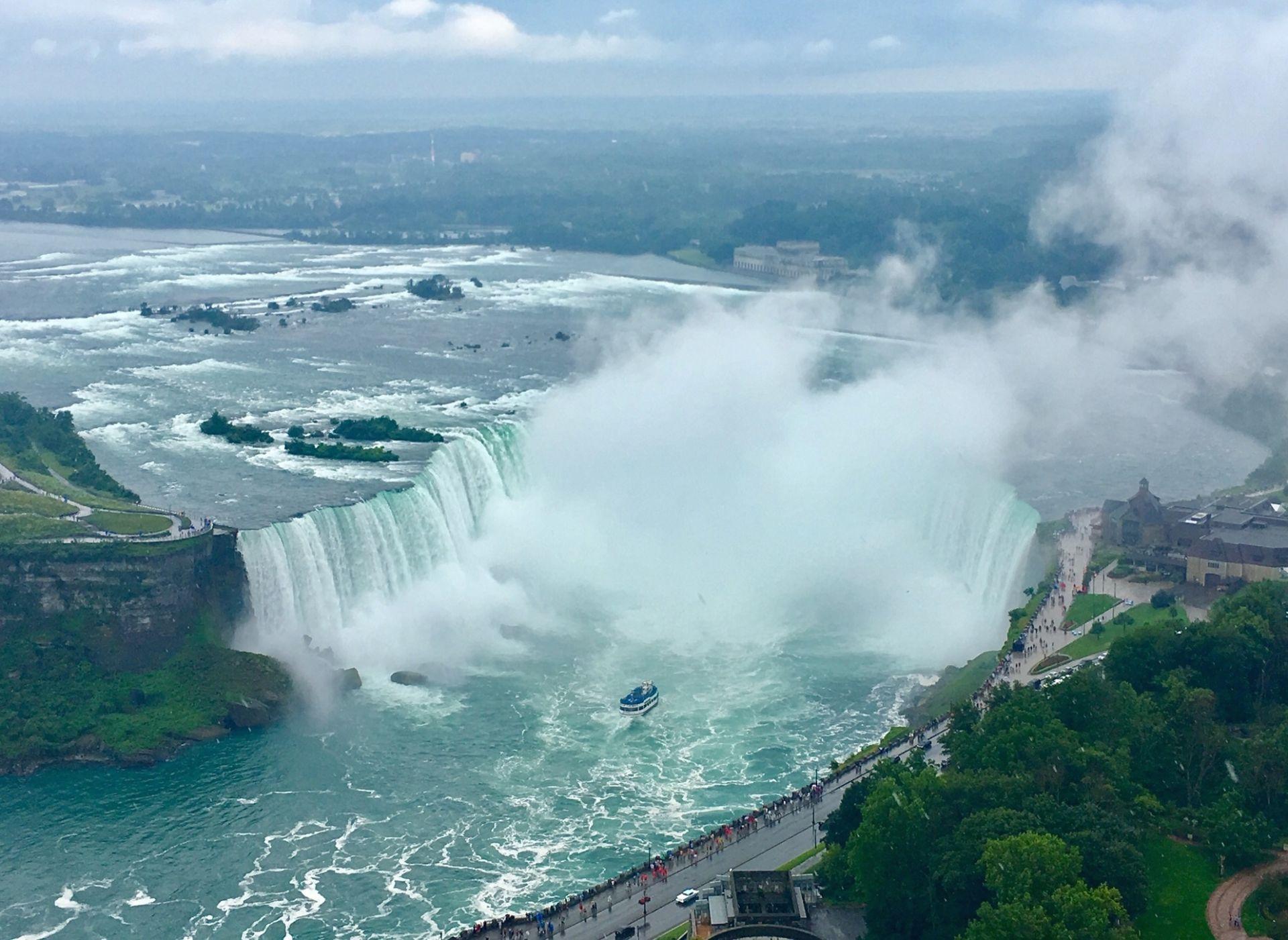 Niagara Falls, thác nước vĩ đại vùng Bắc Mỹ - 1