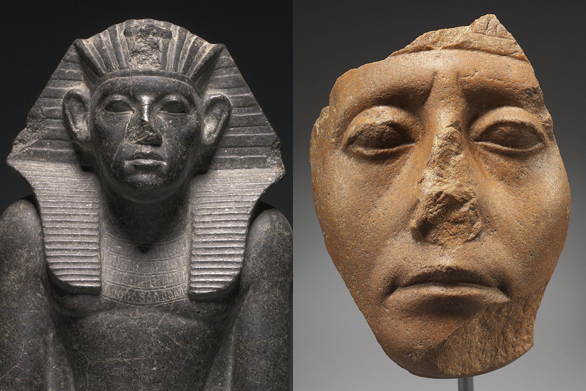 Tại sao những bức tượng Ai Cập cổ đại thường bị mất mũi? - 4