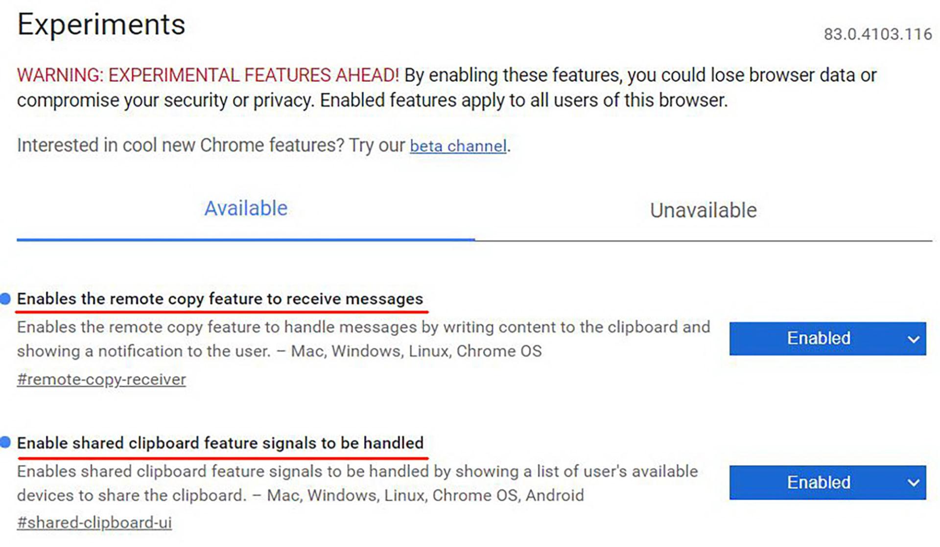 Copy văn bản text giữa MacOS, Windows, Android thông qua Google Chrome - 2