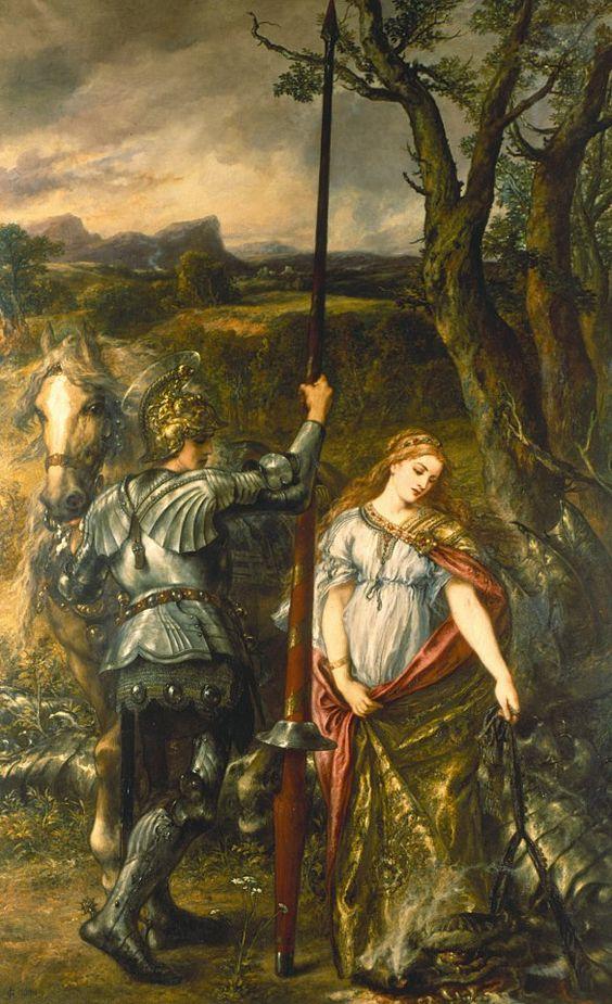 Truyền thuyết Thánh kỵ sĩ giết rồng qua hội họa phương Tây - 11