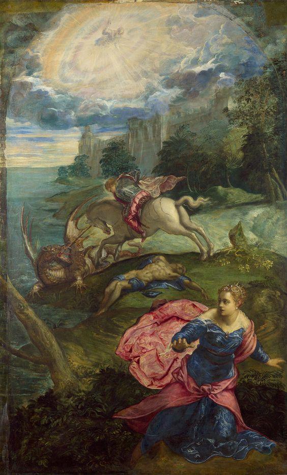 Truyền thuyết Thánh kỵ sĩ giết rồng qua hội họa phương Tây - 8