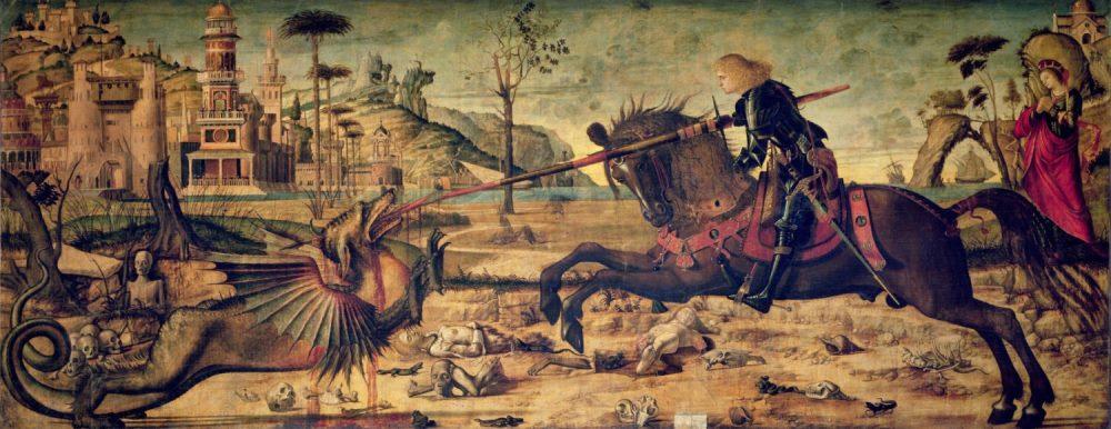 Truyền thuyết Thánh kỵ sĩ giết rồng qua hội họa phương Tây - 7