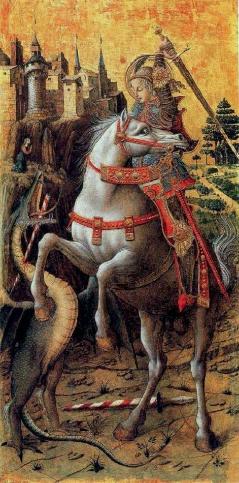 Truyền thuyết Thánh kỵ sĩ giết rồng qua hội họa phương Tây - 10