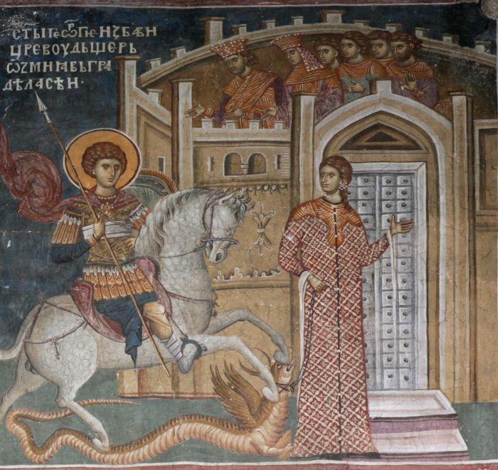 Truyền thuyết Thánh kỵ sĩ giết rồng qua hội họa phương Tây - 3
