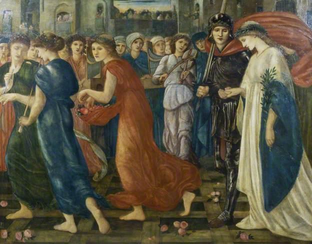 Truyền thuyết Thánh kỵ sĩ giết rồng qua hội họa phương Tây - 12