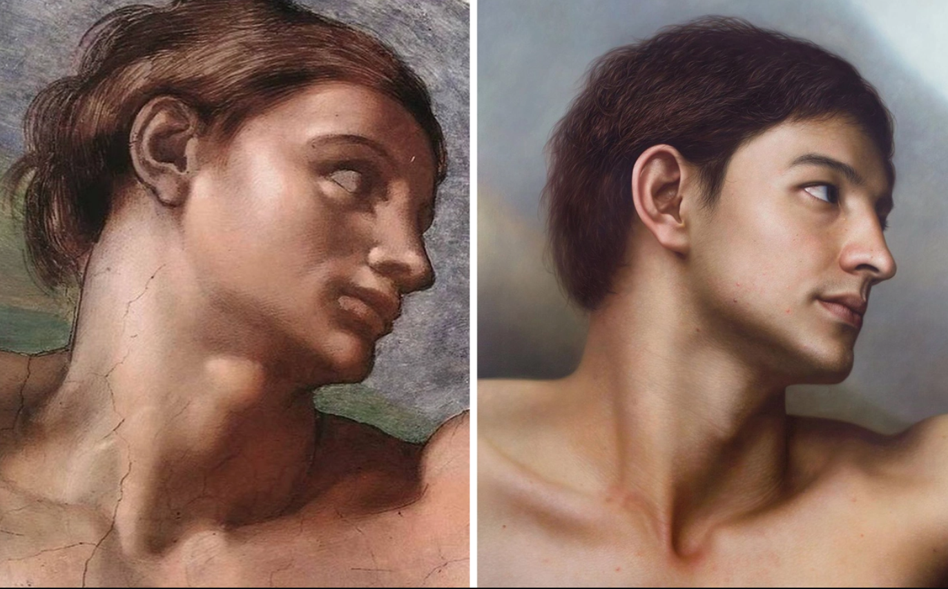 Chiêm ngưỡng những chân dung nổi tiếng được vẽ lại bằng phong cách cực thực (hyperrealistic) - 2