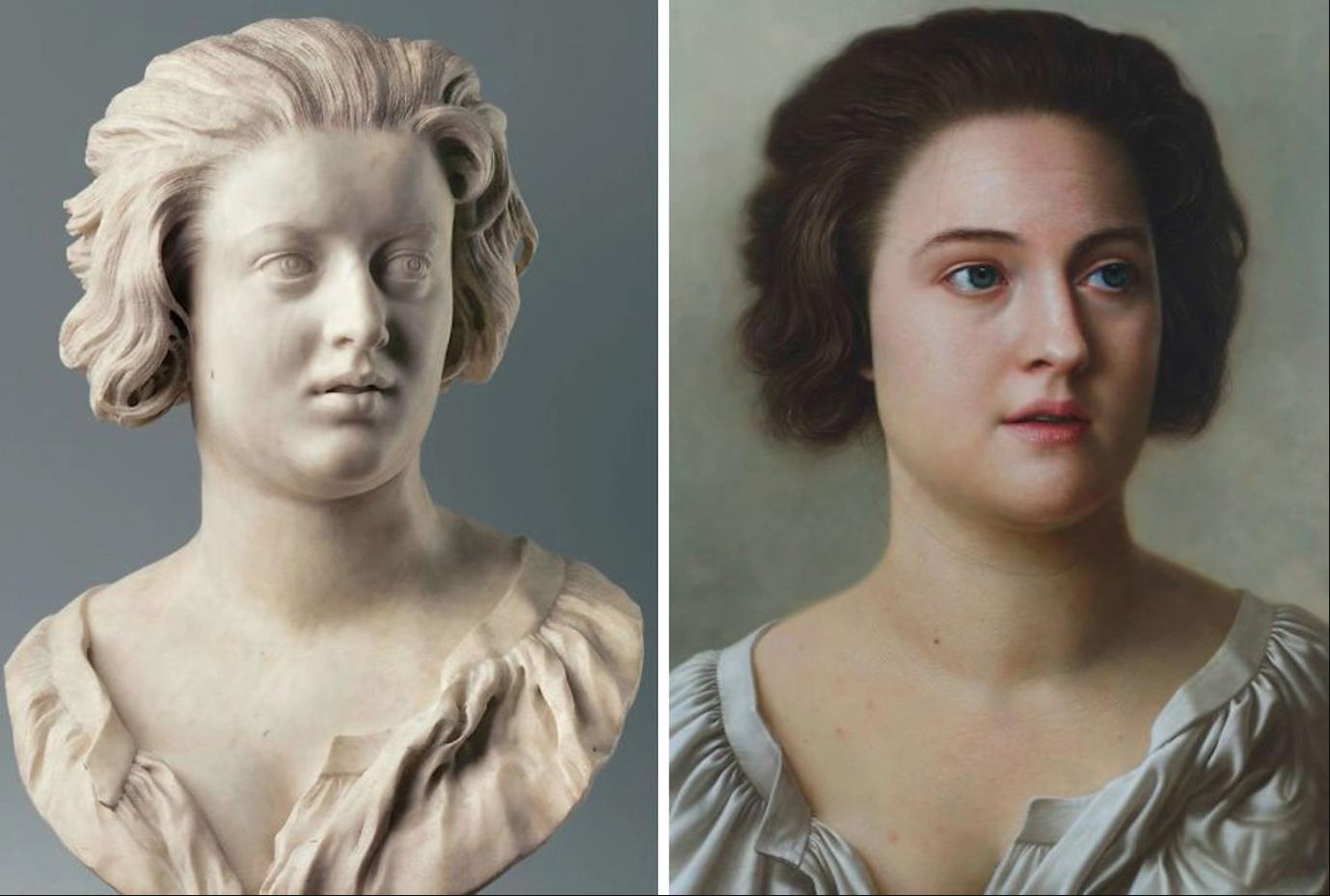Chiêm ngưỡng những chân dung nổi tiếng được vẽ lại bằng phong cách cực thực (hyperrealistic) - 4
